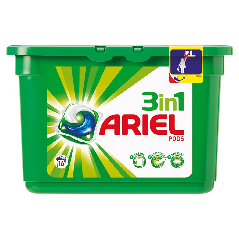 Afbeelding van Ariel 3-in-1 pods Regular wasmiddel - 16 wasbeurten