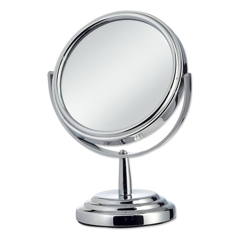 Spiegel rond op voet blokker for Blokker spiegel