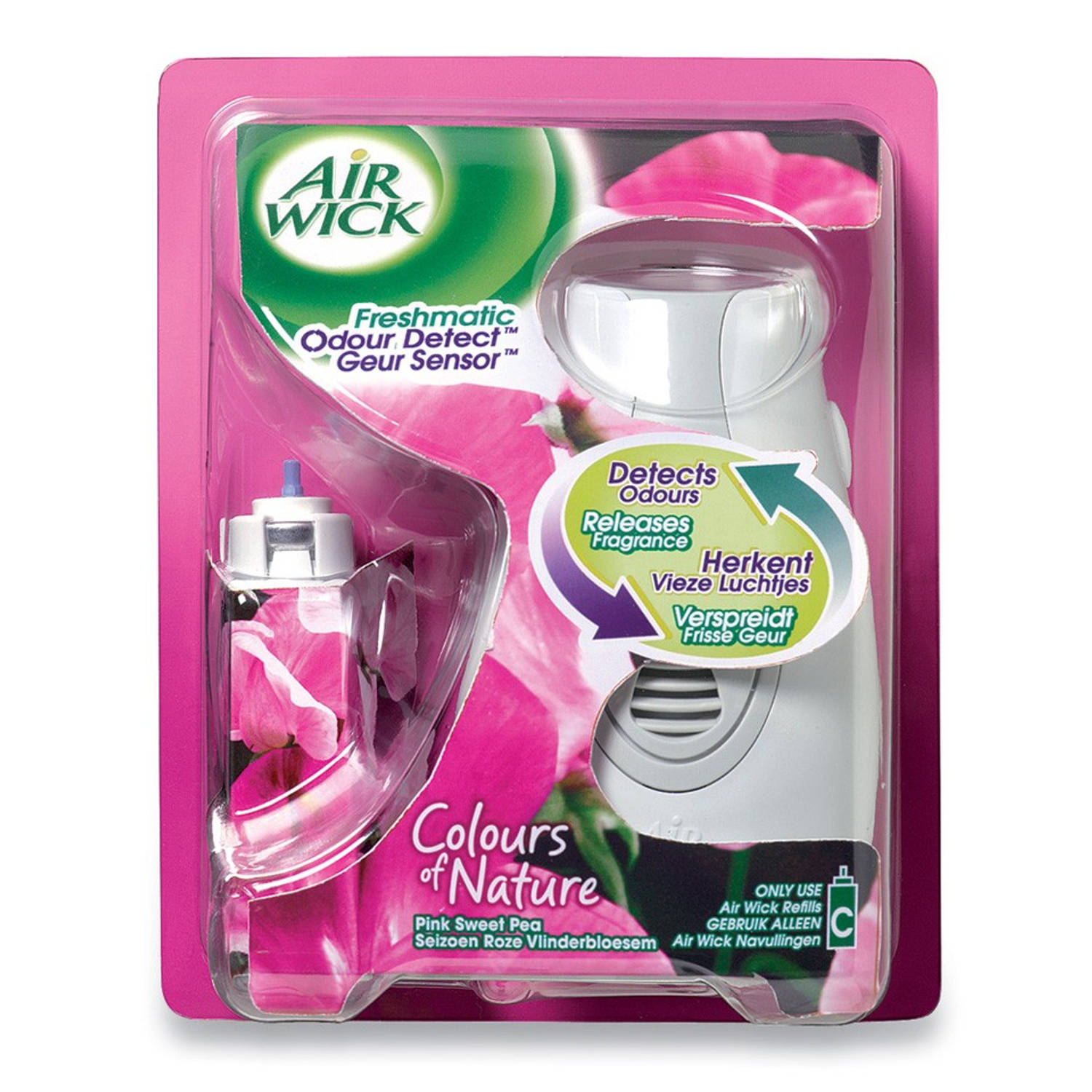 Air Wick Freshmatic Compact Refill : Airwick freshmatic compact pink sweet luchtverfrisser