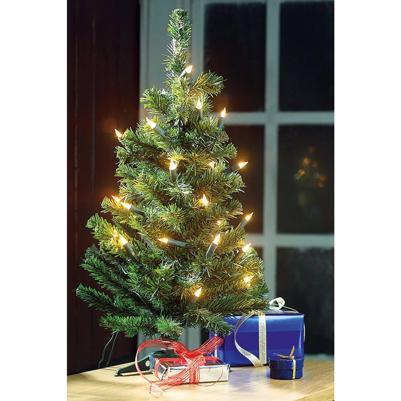 kerstboom van 60 cm en met 20 lampjes