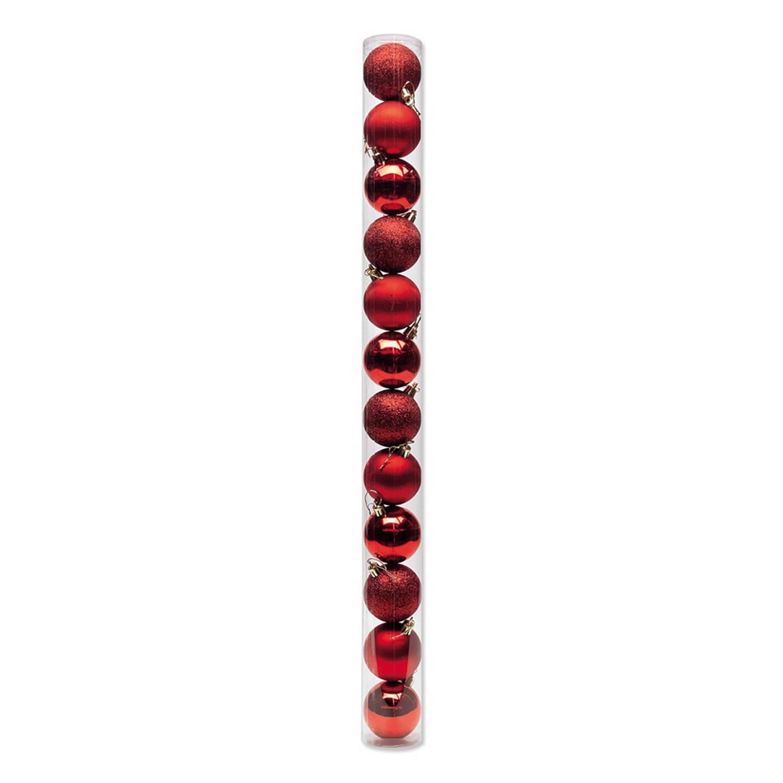 Doos kerstballen 12 stuks Ø 6 cm | Blokker