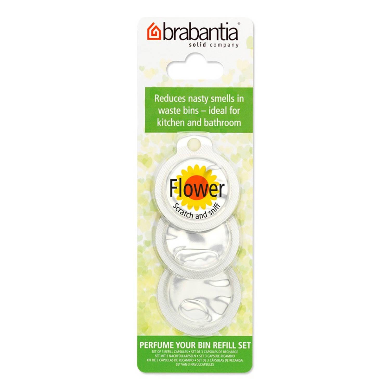 Perfume Your Bin navulling afvalemmerverfrisser bloemengeur (3 stuks)
