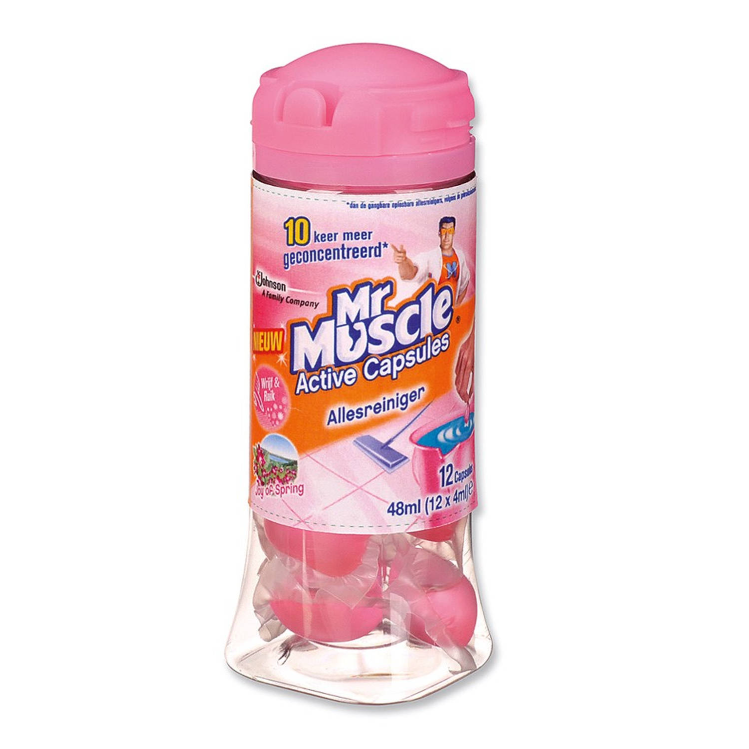 Mr Muscle Active Capsules Joy of Spring