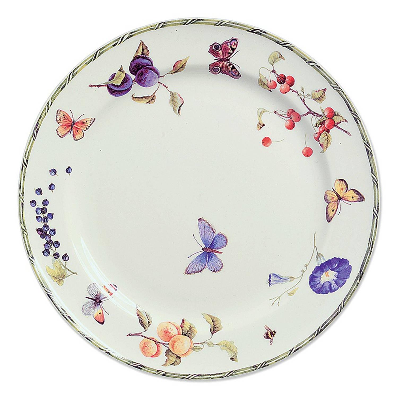 Korting Janneke Brinkman Fruit en Flowers bord plat Ø 25,5 cm