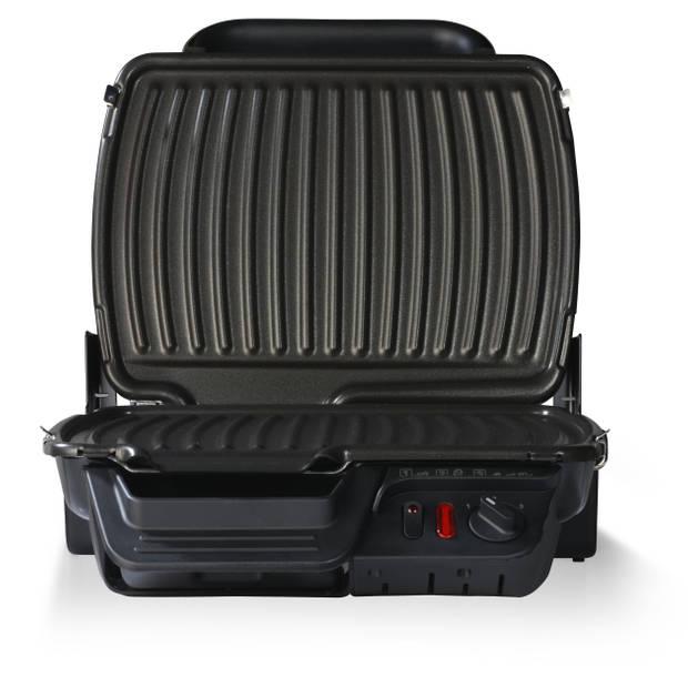 Tefal contactgrill Ultra Compact 600 Black GC3058 - RVS