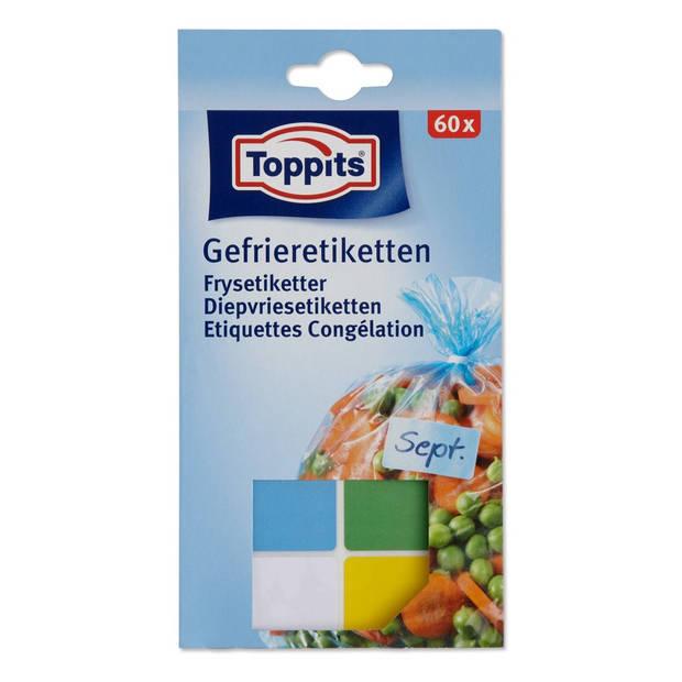 Toppits diepvriesetiketten - 60 stuks