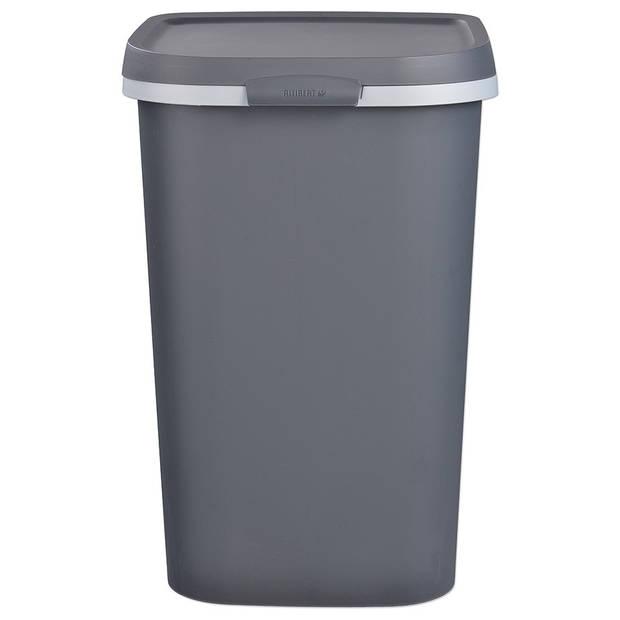 Curver Mistral afvalbak 50 liter - antraciet