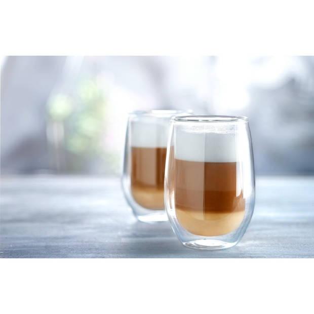 Dubbelwandige glazen groot - 2 stuks - 35 cl