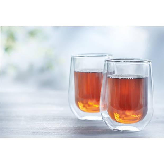 Dubbelwandige glazen Klein - 2 stuks