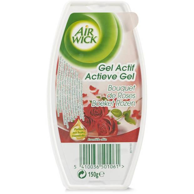 Airwick Actieve Gel Rozen