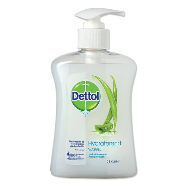 Dettol Healthy Touch hydraterende wasgel aloe vera 250 ml