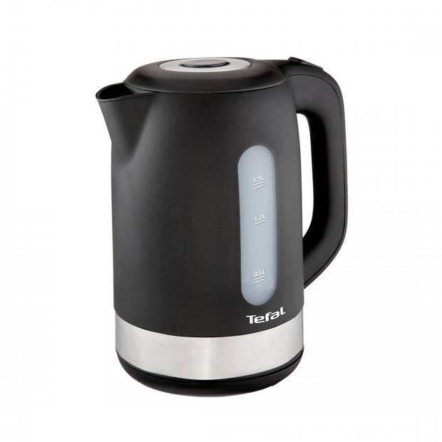 Tefal waterkoker KO3308 - mat zwart - 1,7 liter