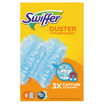 Blokker-Swiffer Duster Febreze doekjes navulverpakking 9 stuks-aanbieding