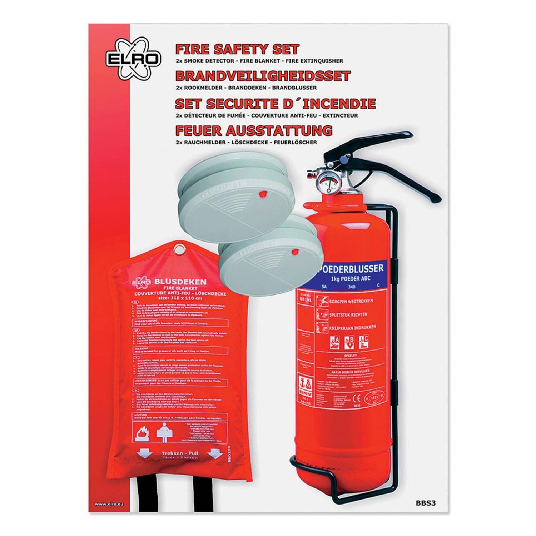 Brandveiligheidsset 4-delig BBS3