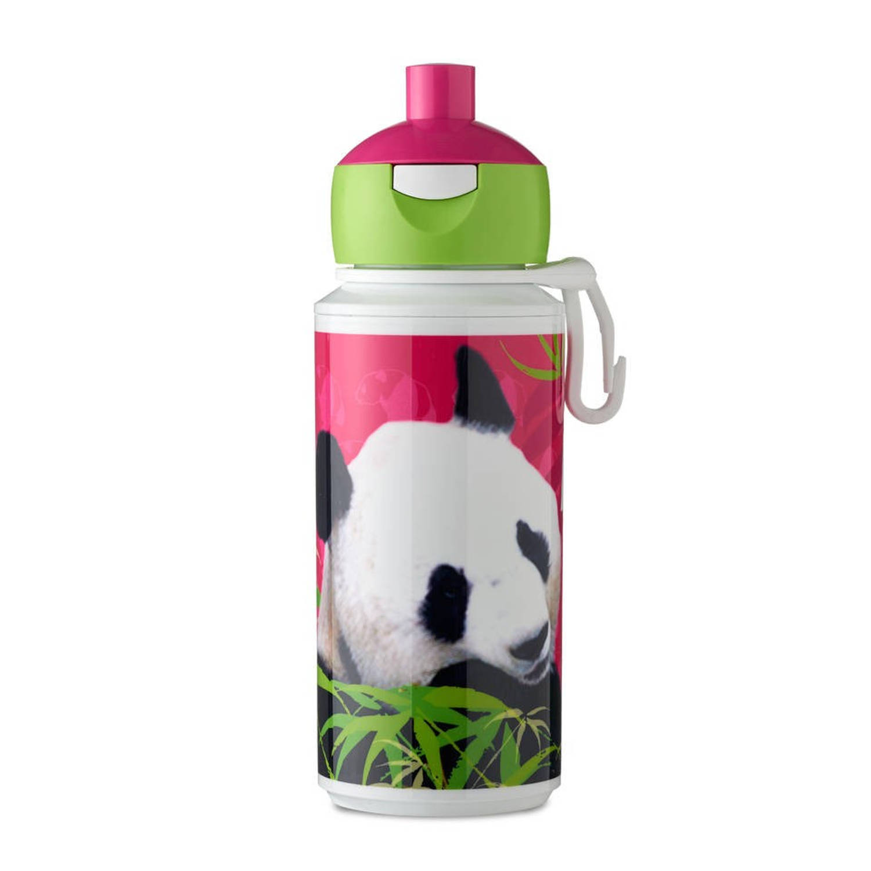 Rosti Mepal drinkfles Pop-Up Animal Planet panda