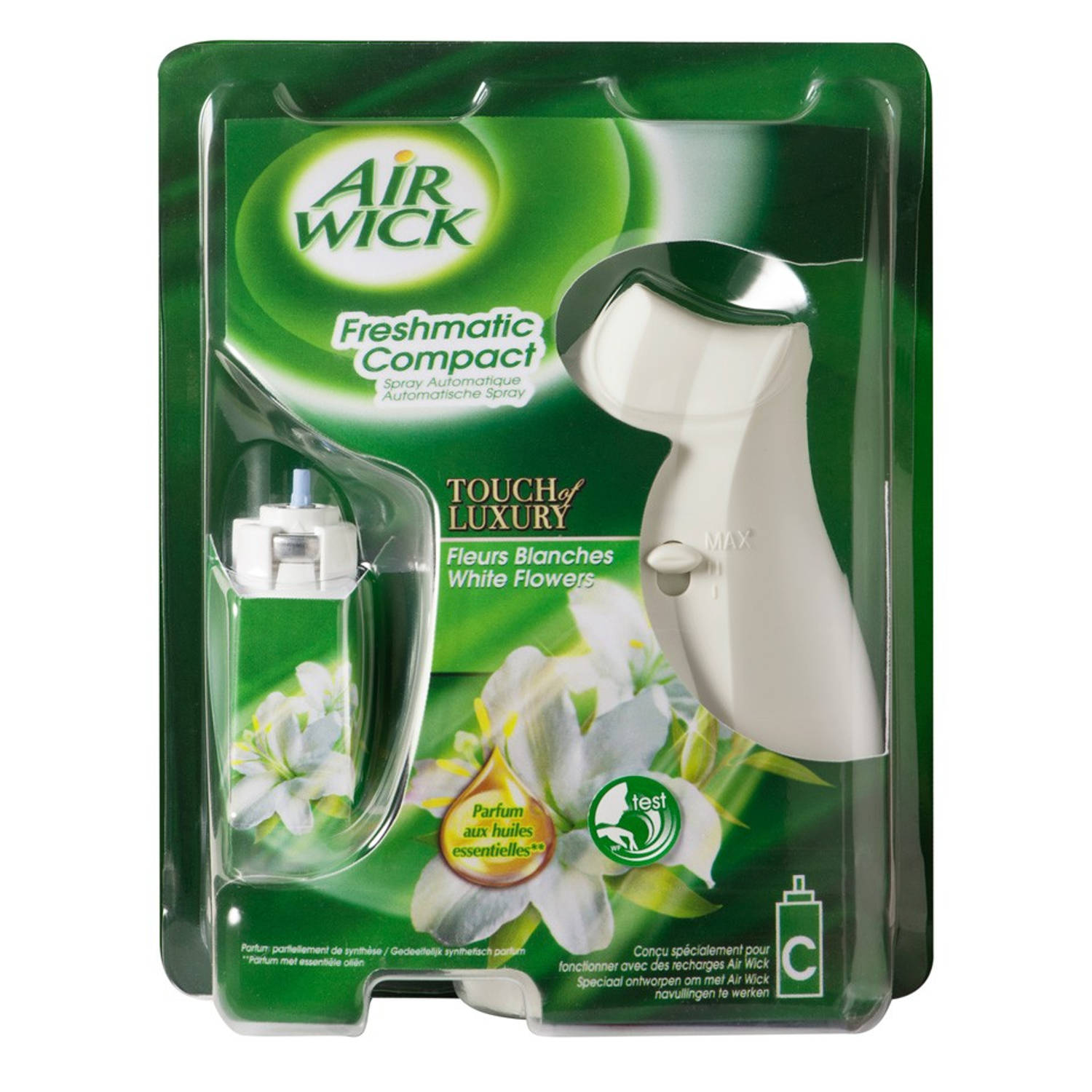 Air Wick Freshmatic Compact White Flowers Blokker