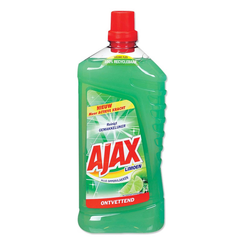 Afbeelding van Ajax allesreiniger limoen 1,25 liter