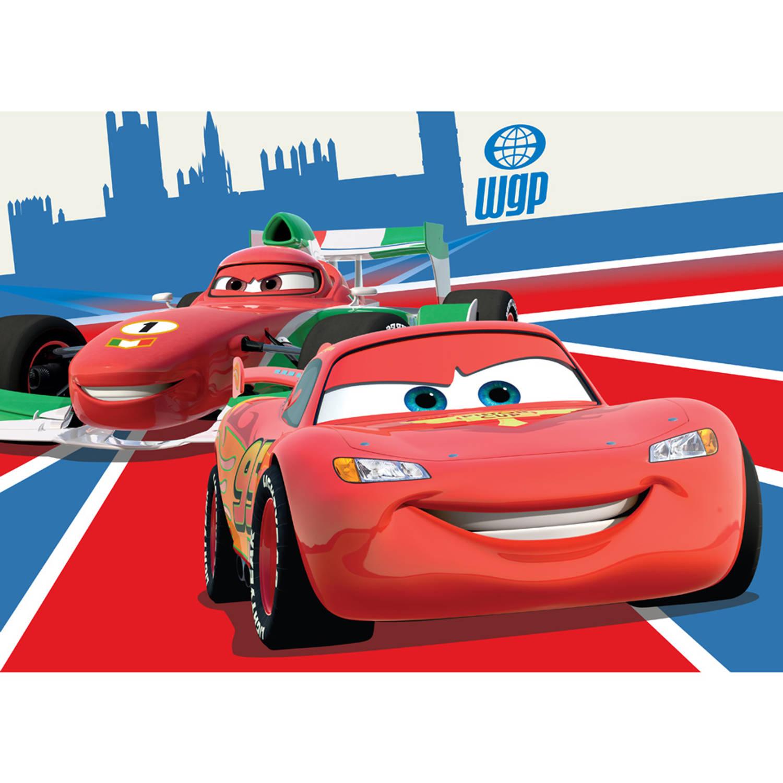 Vloerkleed Cars McQueen & Francesco