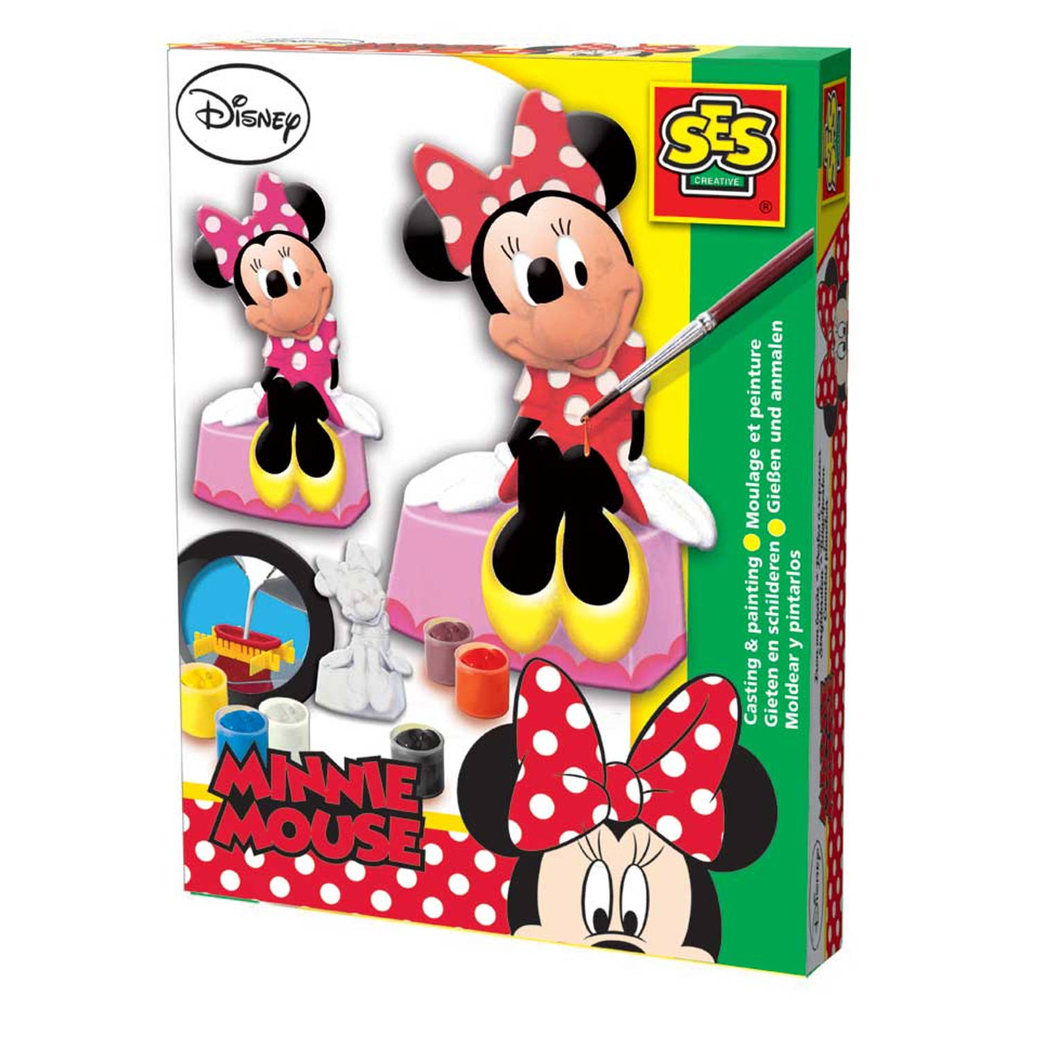 Ses gips gieten Disney Minnie Mouse