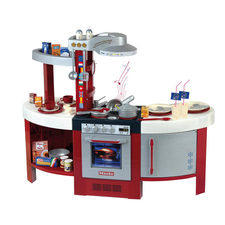 Korting Miele grote luxe speelgoed keuken met geluid