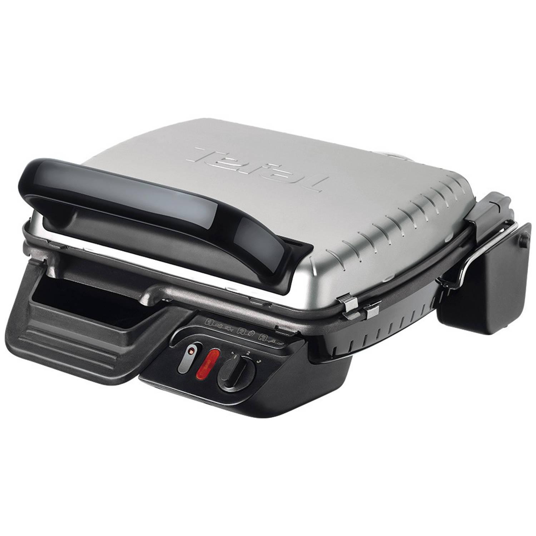Korting Tefal contactgrill Ultra Compact GC3050 RVS