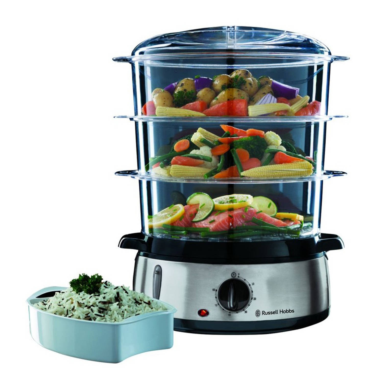 Russell Hobbs stoomkoker Cook@Home 19270-56