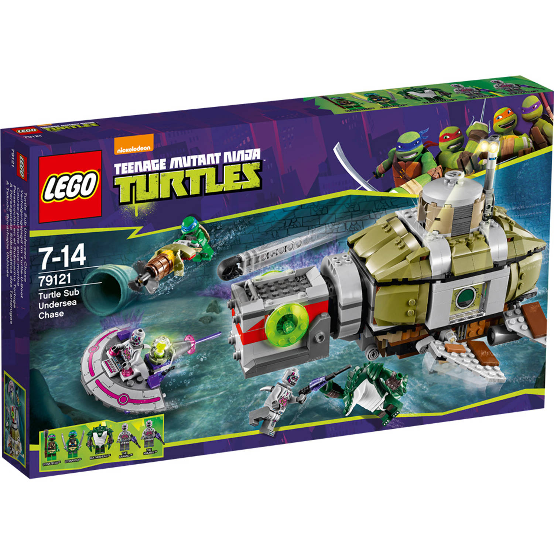 LEGO 79121 TURTLES ACHTERVOLG.