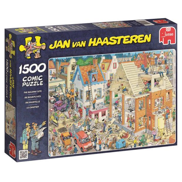 Jumbo Jan van Haasteren De Bouwplaats legpuzzel 1500 stukjes