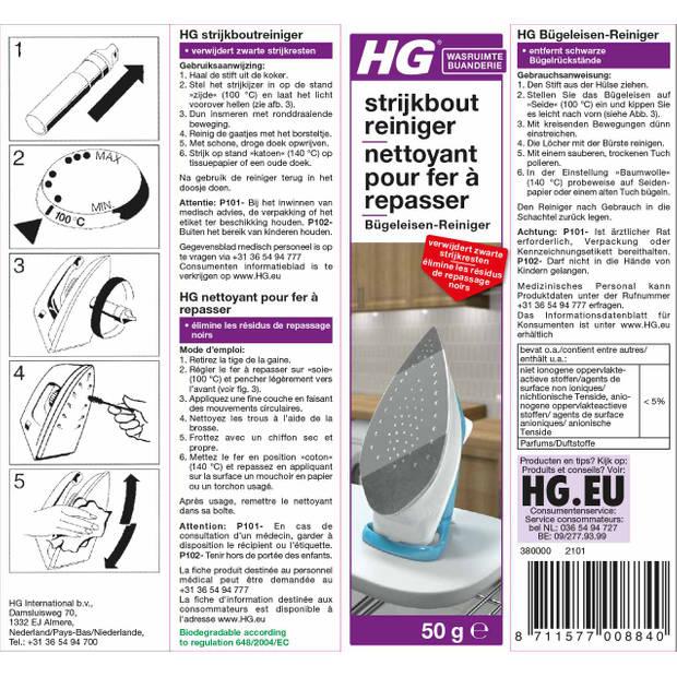 HG strijkboutreiniger