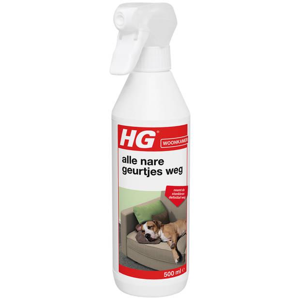 HG alle nare geurtjes weg spray textiel