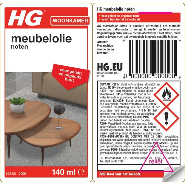 HG verzorgende meubelolie