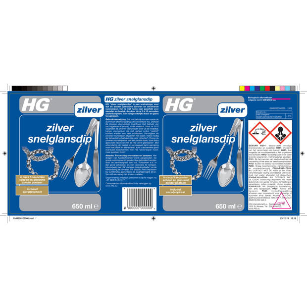 HG zilver snelglansdip