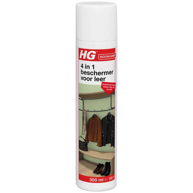 HG water, olie, vet & vuil dicht voor leer