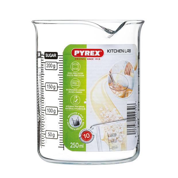 Pyrex Classic Kitchen Lab maatglas - 0,25 l