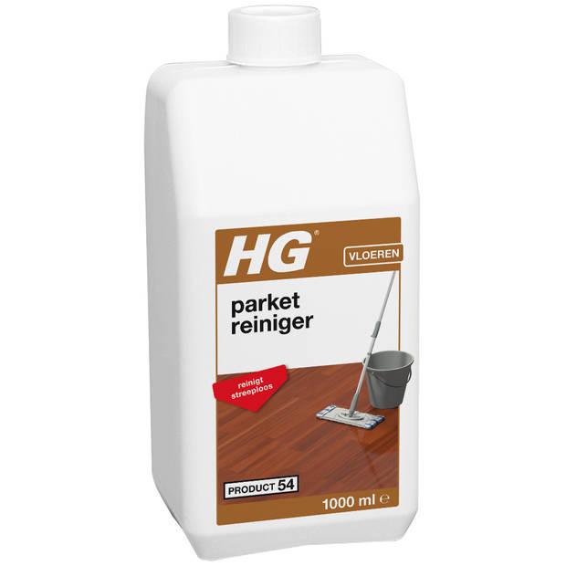 HG parketreiniger met glans (p.e. polish)