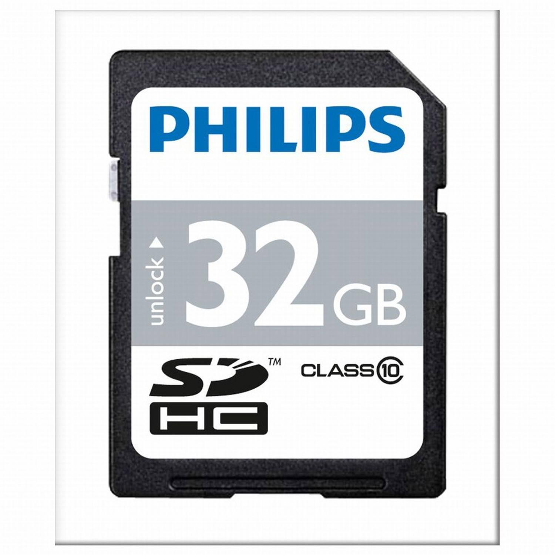Philips klasse 10 SDHC SD-kaart 32 GB