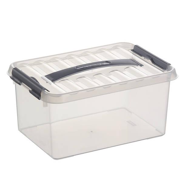 Stapelbare Q-line opbergbox 6 liter