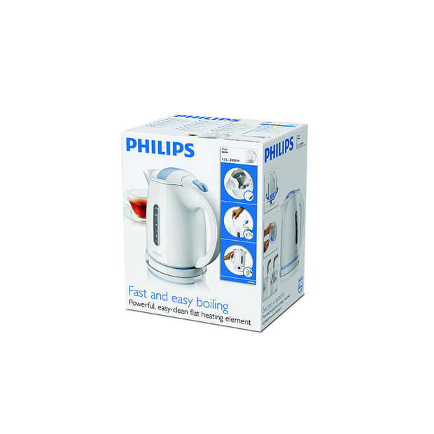 Philips waterkoker Daily Collection HD4646/70 - Wit - 1,5 liter