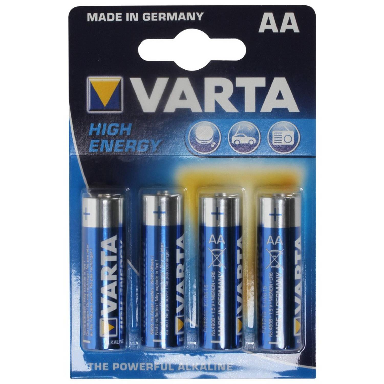 VARTA High Energie AA batterijen - 4 stuks