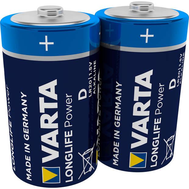 VARTA High Energie D batterijen - 2 stuks