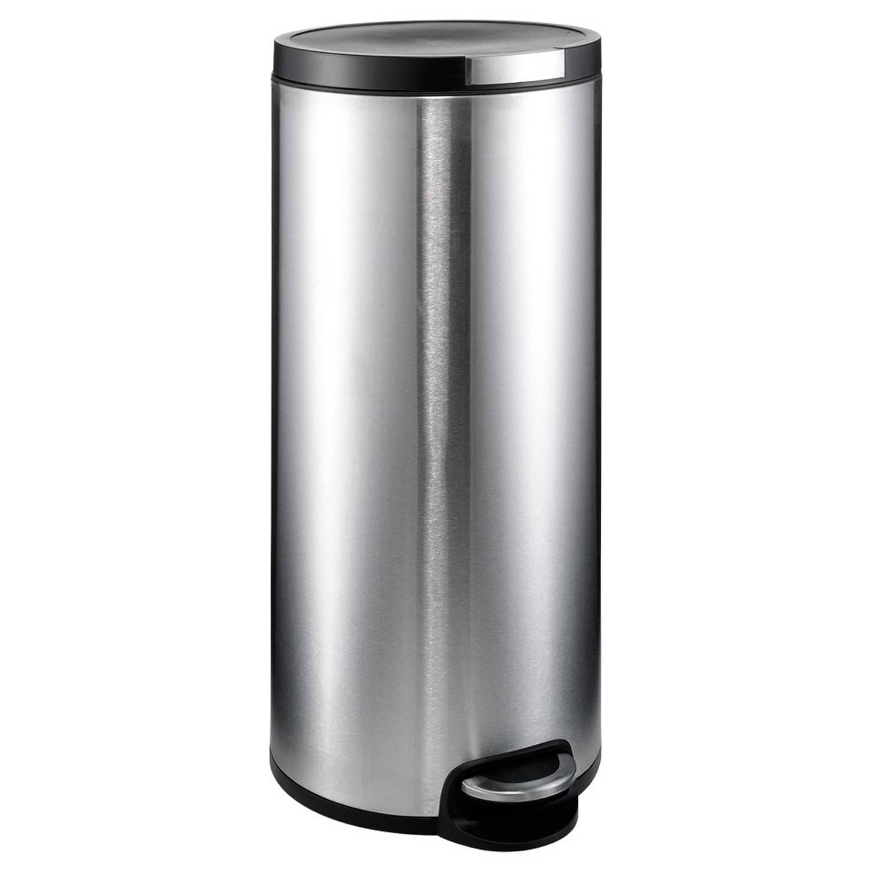 Brabantia Pedaalemmer 30 Liter Mat Rvs.Woonkorting Schoonmaak Huishoud Prullenbakken Accessoires