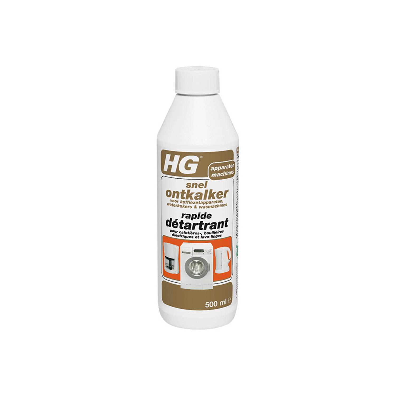 HG snel ontkalker voor koffiezetapparaten, waterkokers & wasmachines