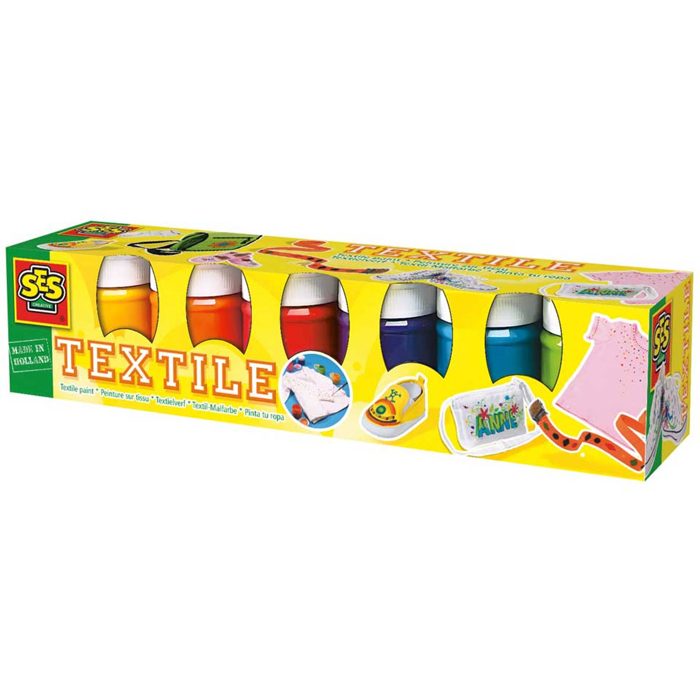 SES Textielverf trendy – 6 Kleuren