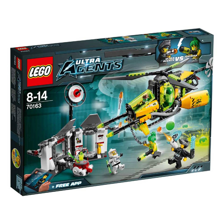 LEGO 70163 AGENTS GIF GEVECHT