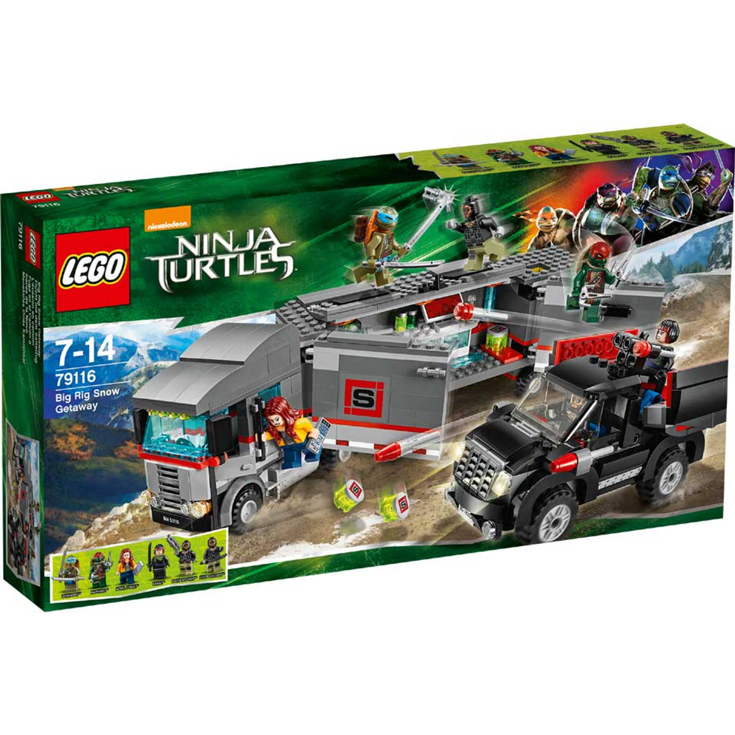 LEGO 79116 TURTLES ONTSNAPPING