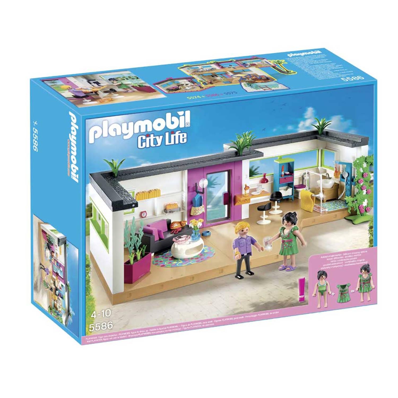 Playmobil gastenverblijf 5586   Blokker