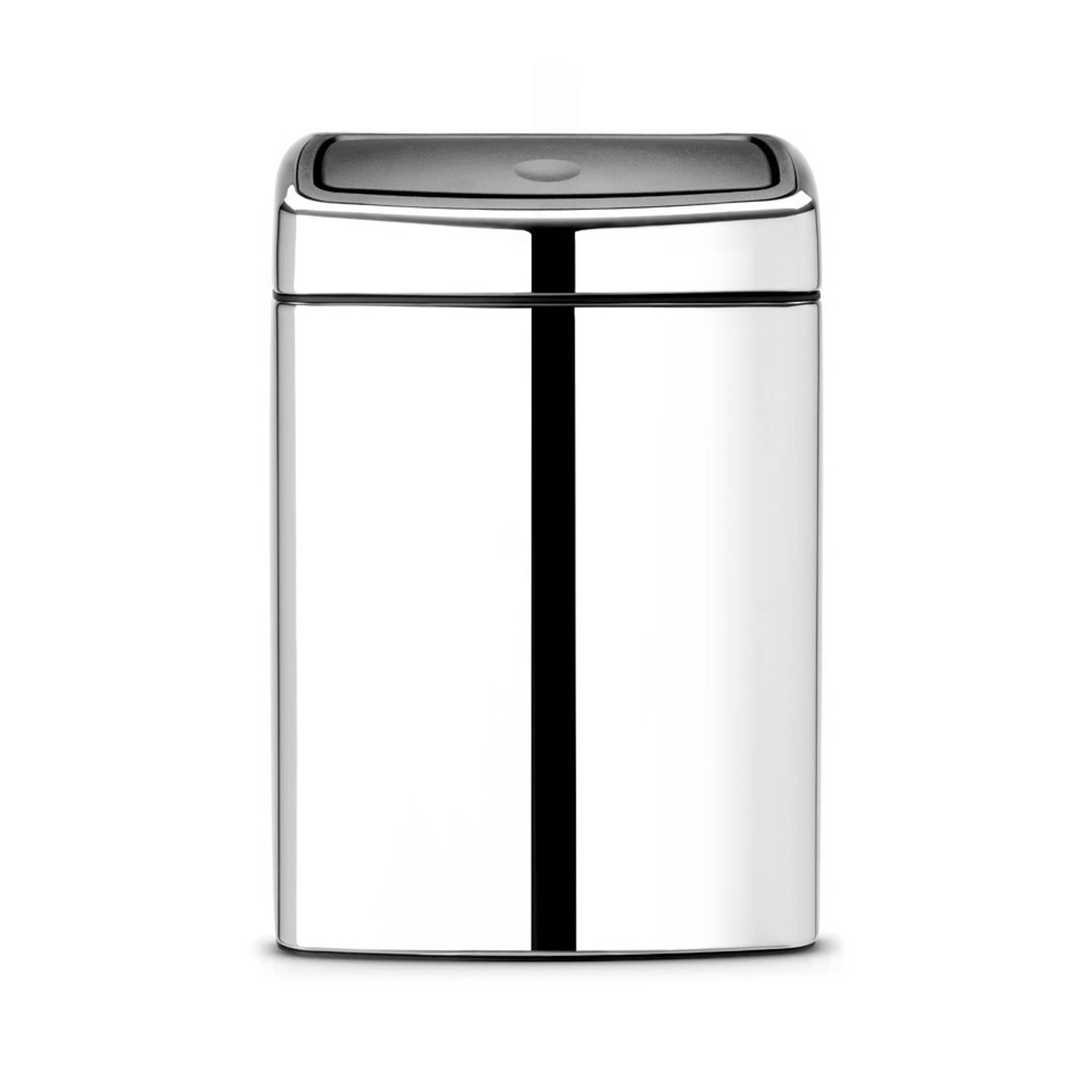 Brabantia Touch Bin 10 l - Brilliant Steel
