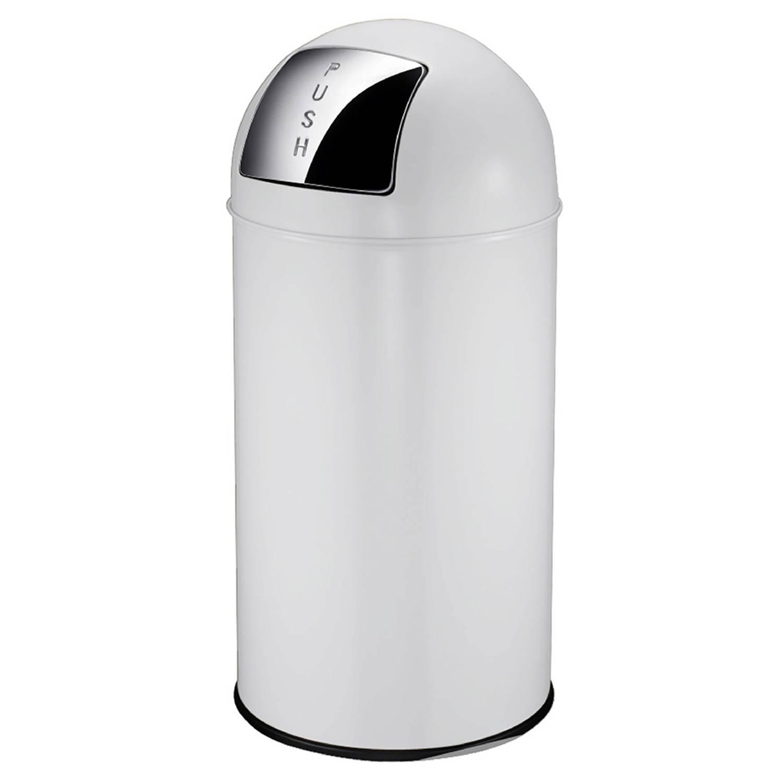 Pushcan 40 liter, Wit