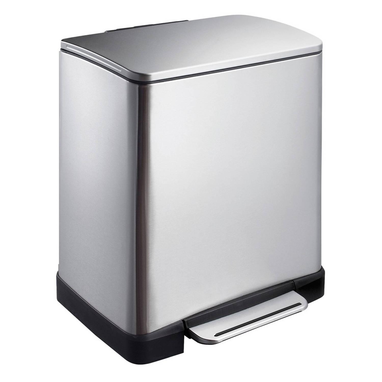 EKO E-Cube pedaalemmer 20L mat RVS