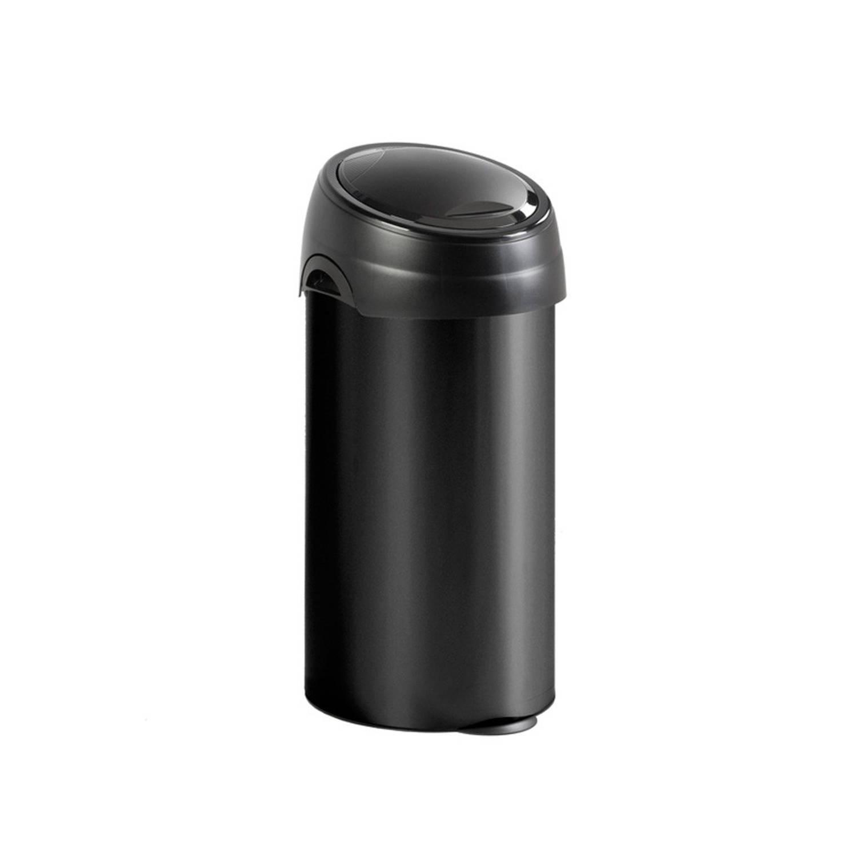 Meliconi Soft Touch prullenbak 60L zwart